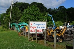 Renting Equipment Troutman and Statesville