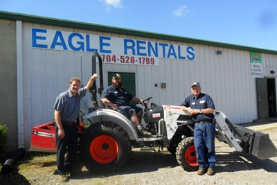 Bobcat Loader Rentals in Mocksville, North Carolina