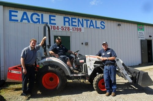 about Eagle Rentals equipment services